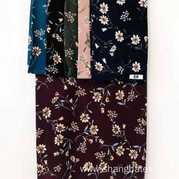 Shaoxing Textile Suppliers Crepe Rayon Print For Cloth