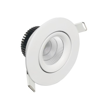 8W CCT anti-blænding dæmpbar led downlight