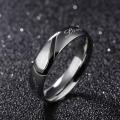 Stainless Steel Wedding Ring Set Him And Her