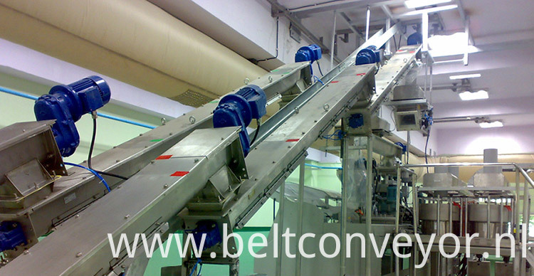 screw conveyor working site