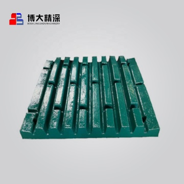 jaw plate for Sandvick jaw crusher spare parts