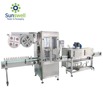 Automatic Round Bottle Labeling Machine For Factory