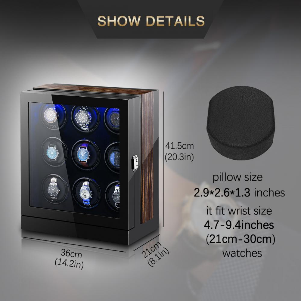 Ww 8204 Multi Rotors Watch Winder Details