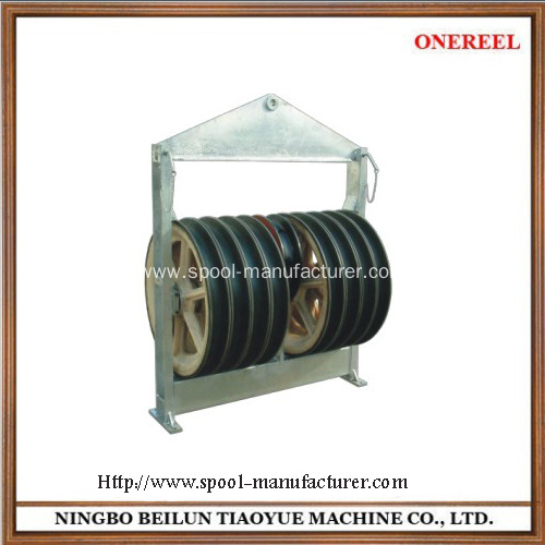 rope hoist pulley wheel block