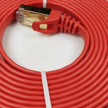 Cat7 Flat Ethernet Cable VS Round Reddit