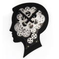 Super Brain Mode Gear Wall Clock