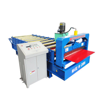 Wave Type Corrugated Roof Sheet Roll Forming Machine