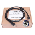 2pcs 3M USB-CP1H for Omron CP1H CP1L CP1G CP1E series PLC programming cable Electronic Data Systems