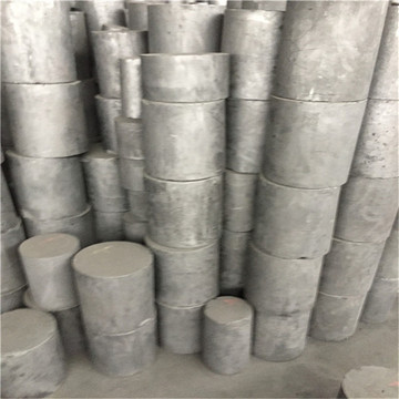 Processing conductive lubricating graphite rod