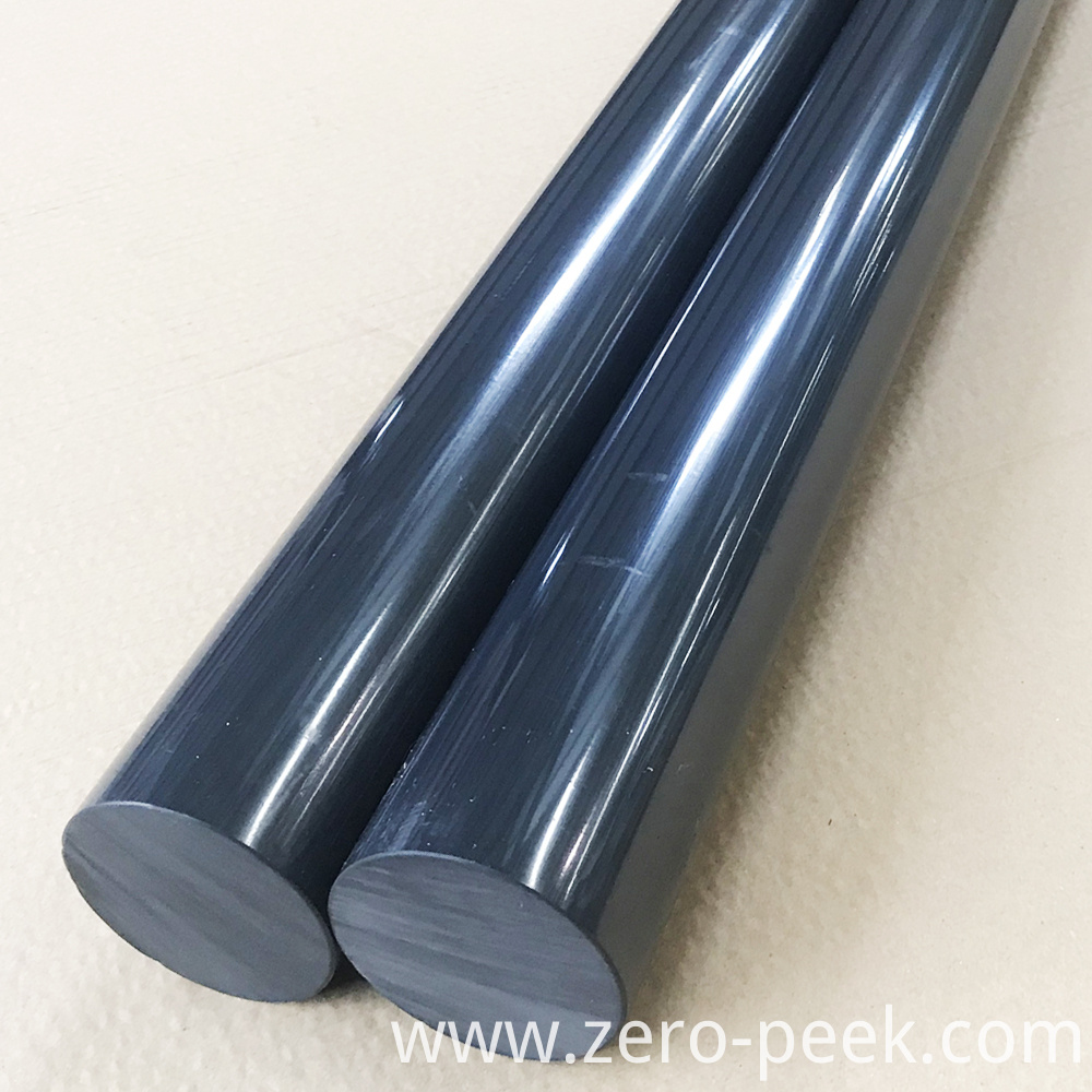 Black Unfilled PEEK Rod