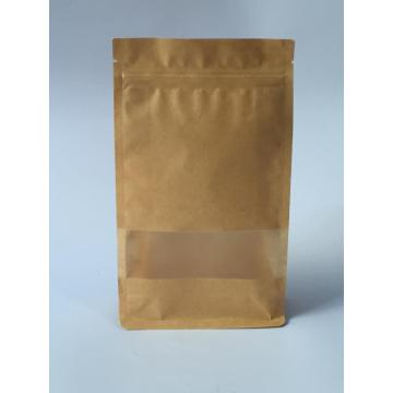 Print Zipper Packaging Bag with Window