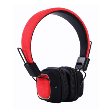 Wireless headband mp3 stereo overhead bluetooth headphone