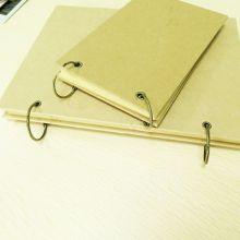 10pcs 25mm Metal Loose Leaf Book Binder Hinged Rings Metal Book Rings for Scrapbook Album Planner Office Circle School Supplies