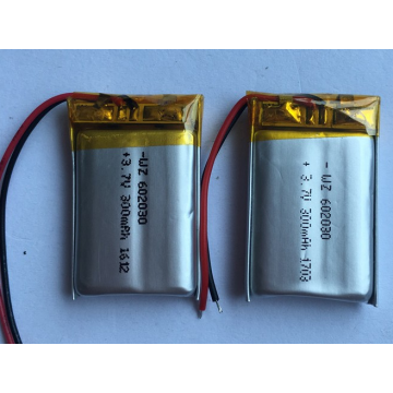 3.7v 300mAh Lipo Battery For Wireless Speakers (LP2X3T6)