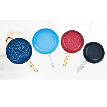 Easy cleaning non-stick coating color frying pan