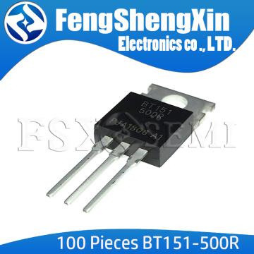 100pcs/lot New BT151 BT151-500R BT151-500 TO220 THYRISTOR TO-220