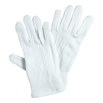 Small White Cotton Gloves