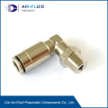 Air-Fluid Male Elbow Push-in Type Rotatable Fittings .