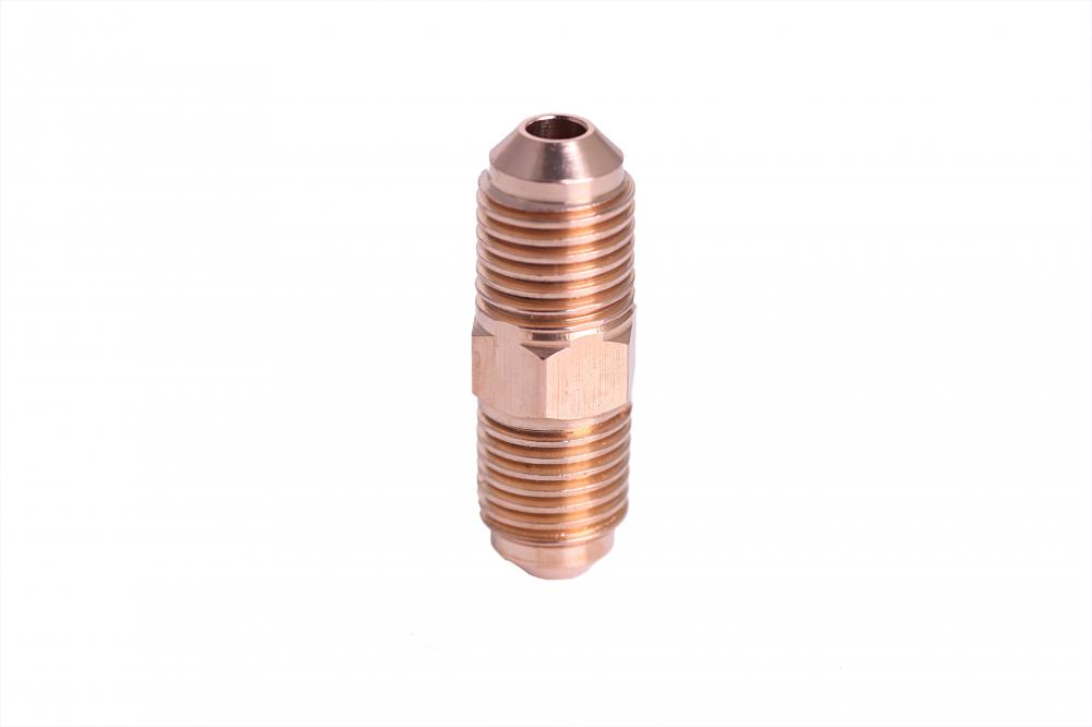 Refrigeration parts brass union