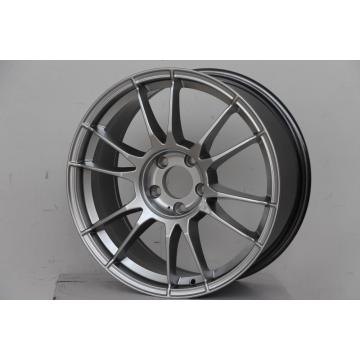 Hyper Silver alloy wheel After market