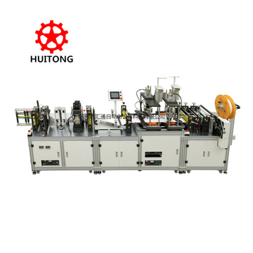 Automatic folding face mask making machine