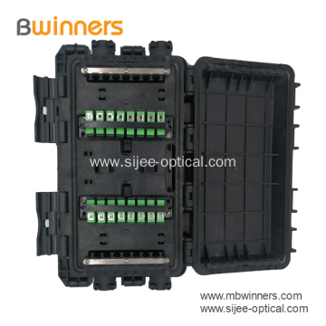 Inline Horizontal Outdoor Fiber Optic Splice Closure