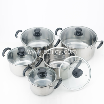 Quality Multiclad Stainless Steel Cookware Set Wholesale
