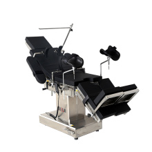Universal stainless steel surgical electric operating table