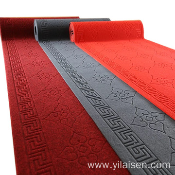 Eco-Friendly black red carpet polyester in drawing room