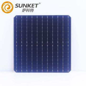 182mm solar cells for 550W panel