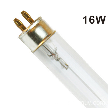 Water treatment quartz tube germicidal lamp UVC bulb