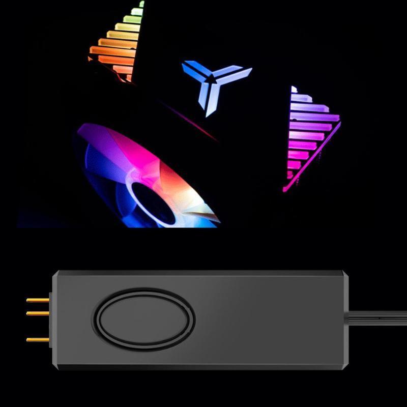 Jonsbo ARGB Controller SATA Pin Power Supply ARGB Controller for 3Pin 5V Case LED Lighting Desktop Computer