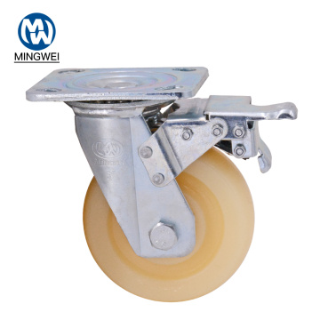 Oudoor Use Heavy Duty Hardware Caster With Brake