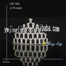 Rhinestone Bridal Hair Accessories Pageant Crown Tiara