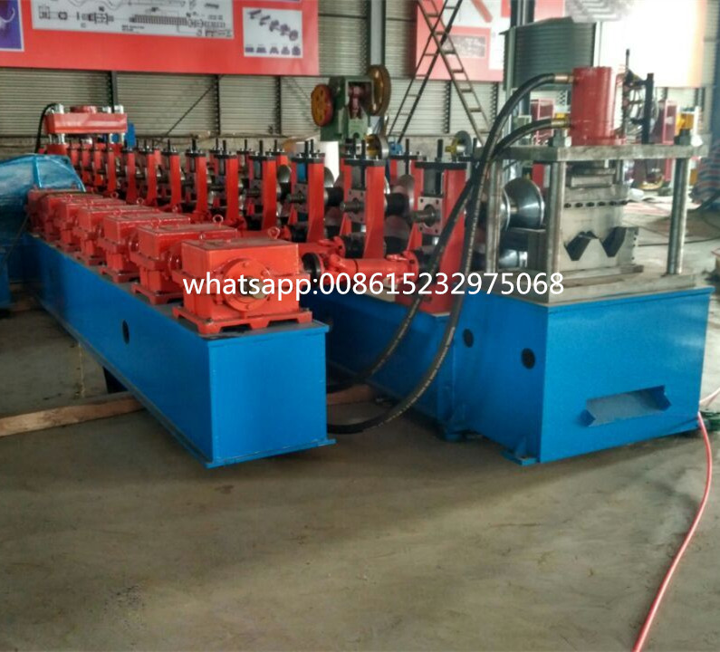 Wholesale Factory Price w beam crash barrier machine