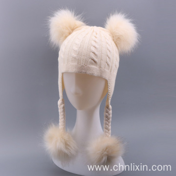 Premium knitting baby winter hats for kids