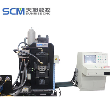 CNC Punching Marking Cutting Machine for Flat Bar