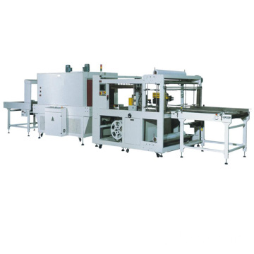 Automatic edge seal cutting shrink packaging machine