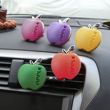 Car Styling Apple Shape Air Conditioning Vent Perfume Interior Air Freshener for BMW Mazda Volkswagen Renault Toyota KIA Volvo