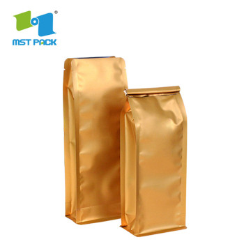 Plastic Aluminum Ziplock Food Protein Powder Bag