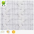 Polyester viscose sweater knit fabric for sweaters