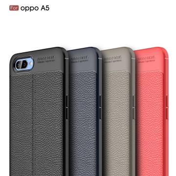 Leather Soft TPU Scratch Resistant for OPPO A5