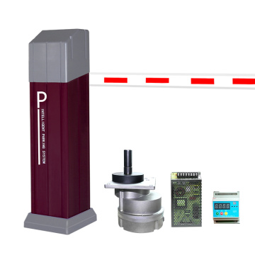Car Parking Barrier Boom Dc Barrier Gate Dc Motor Barrier