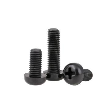 Wholesale nylon screws round head screws black