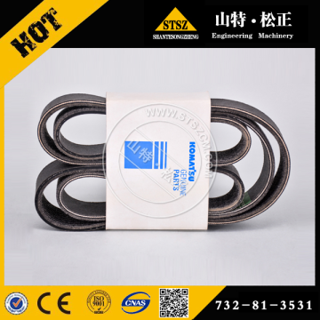 V-belt Set for PC400-7 6156-61-3540