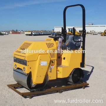800KG Double Drum Soil Compactor Machine (FYL-860)