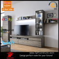 Long Narrow Wall Mount TV Stand Set