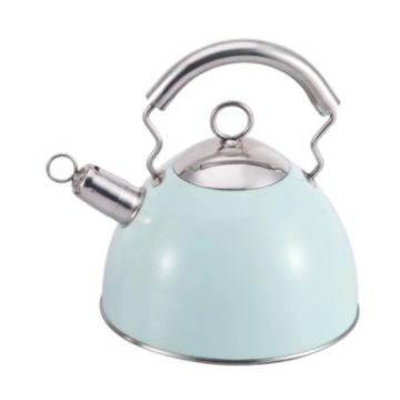 3L Green stainless steel garden teapot
