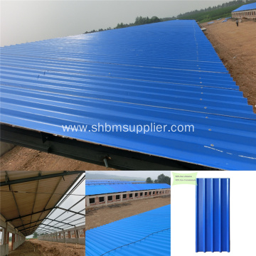 UV Blocking Heat Resistant Mgo Roofing Tiles