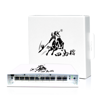 48V 96W 8 Port Outdoor POE Switch